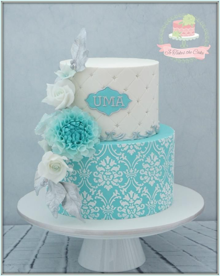 Marvelous Tiffany Inspired Birthday By Jo Finlayson Jo Takes The Cake 16 Funny Birthday Cards Online Alyptdamsfinfo
