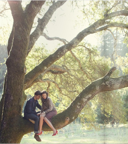Tree climbing with the boyfriend would be funny and cute. Making this happen soon.