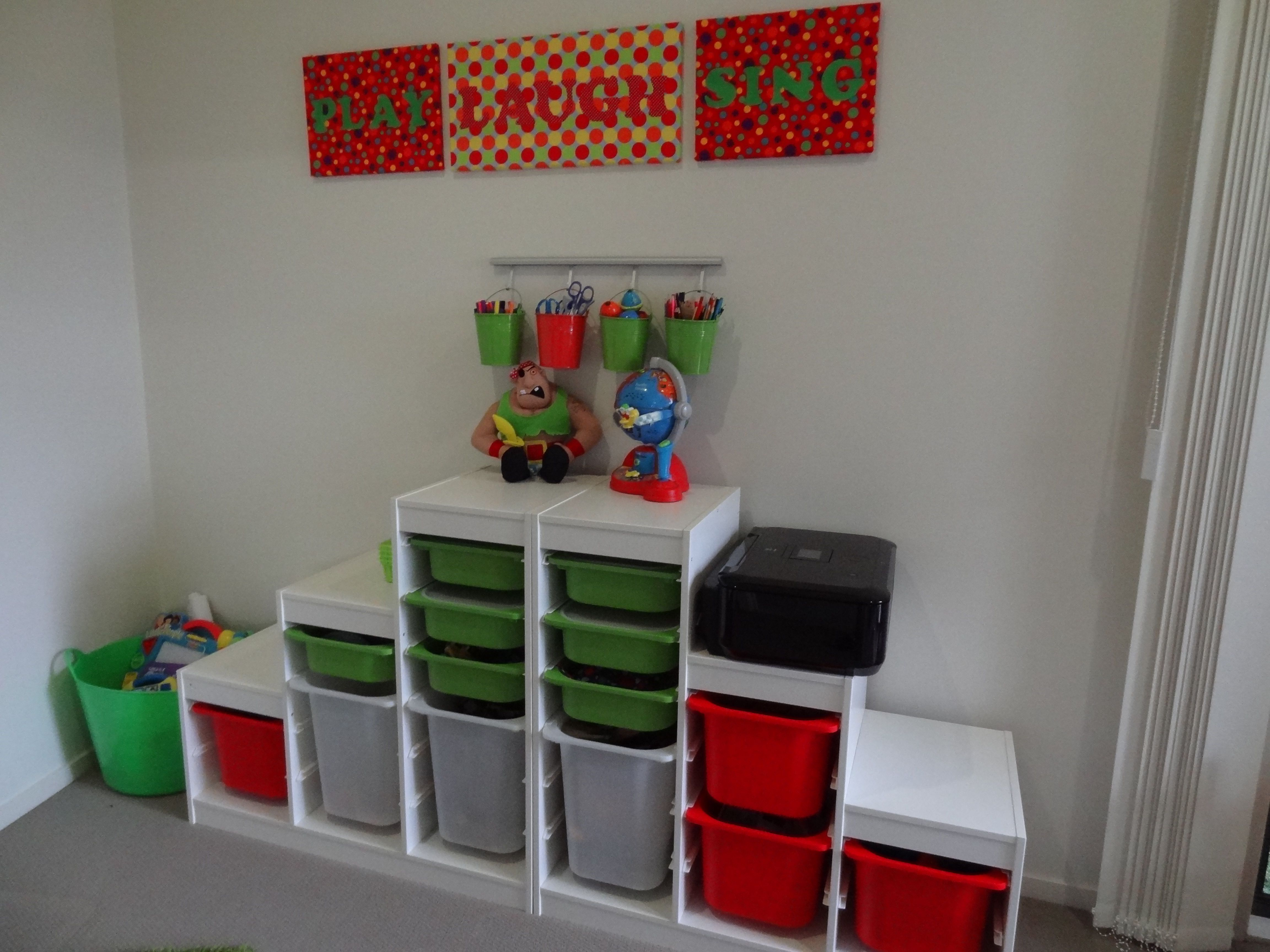 Creating a Kids Playroom – Toy Storage