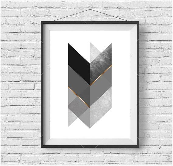 Scandinavian Print Scandinavian Wall Art Scandinavian Home Decor Chevron Print Chevron Art Geometric Print Black and Gold Print Gold Art  sc 1 st  Pinterest & Scandinavian Print Scandinavian Wall Art Scandinavian Home Decor ...