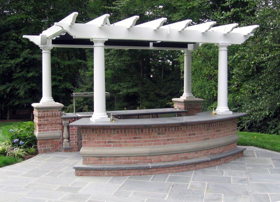 Outdoor Kitchen Grill & BBQ Design & Installation Bergen County NJ