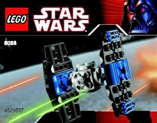 Lego 8028 Mini Tie Fighter 100 Punten Star War Pinterest Lego