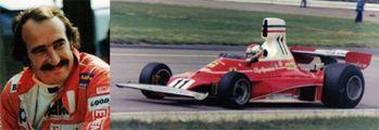 Clay Regazzoni  La sombra de Niky Lauda. Fue subcampeón del mundo en 1974.