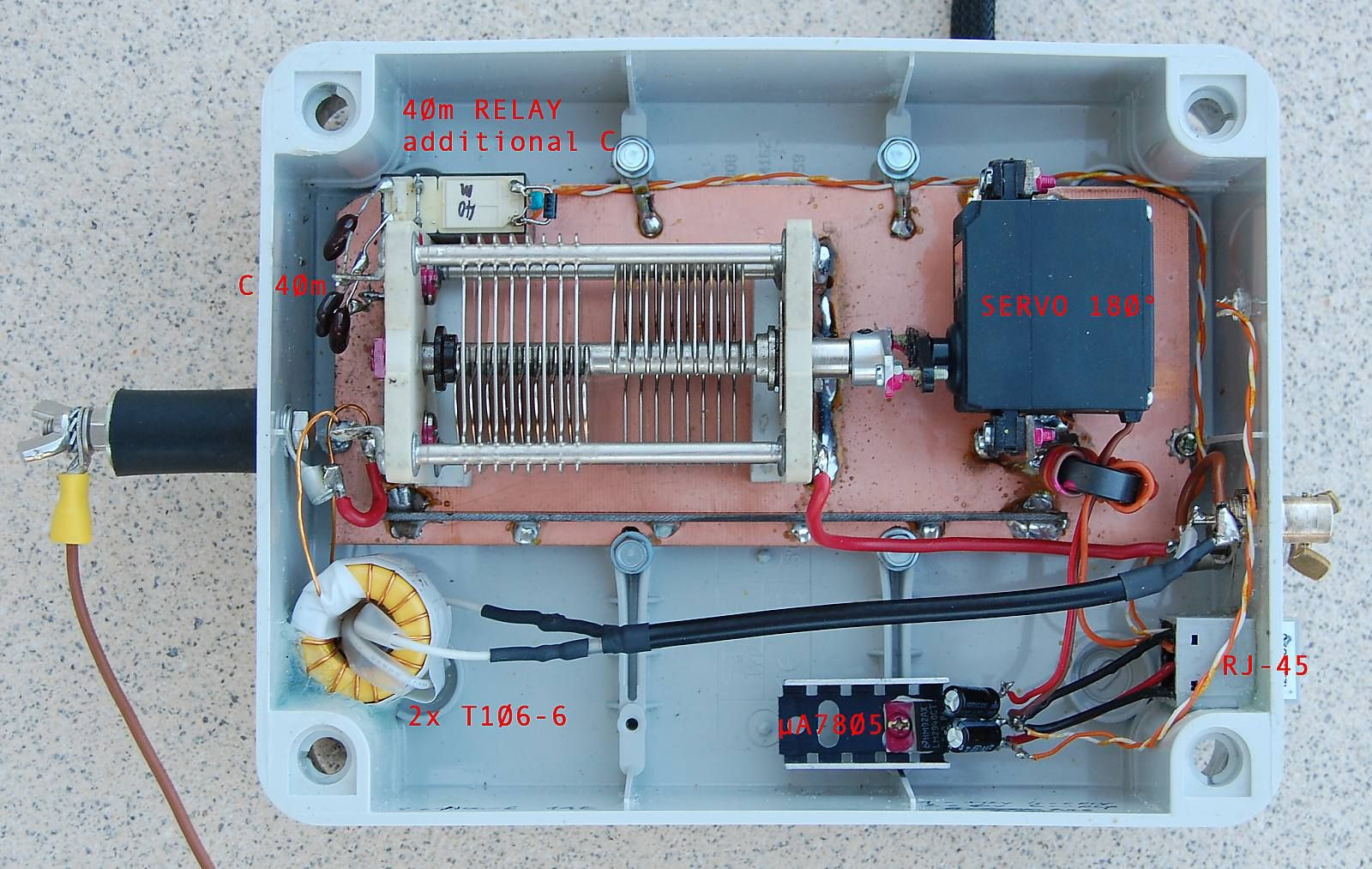 ArduiTuner This project describes an ARDUINO based automatic
