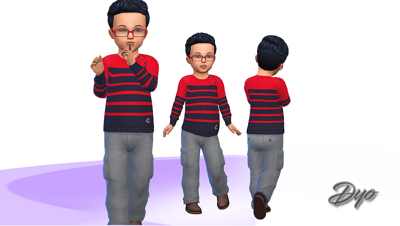 Toddler Sweaters Boy Sims 4