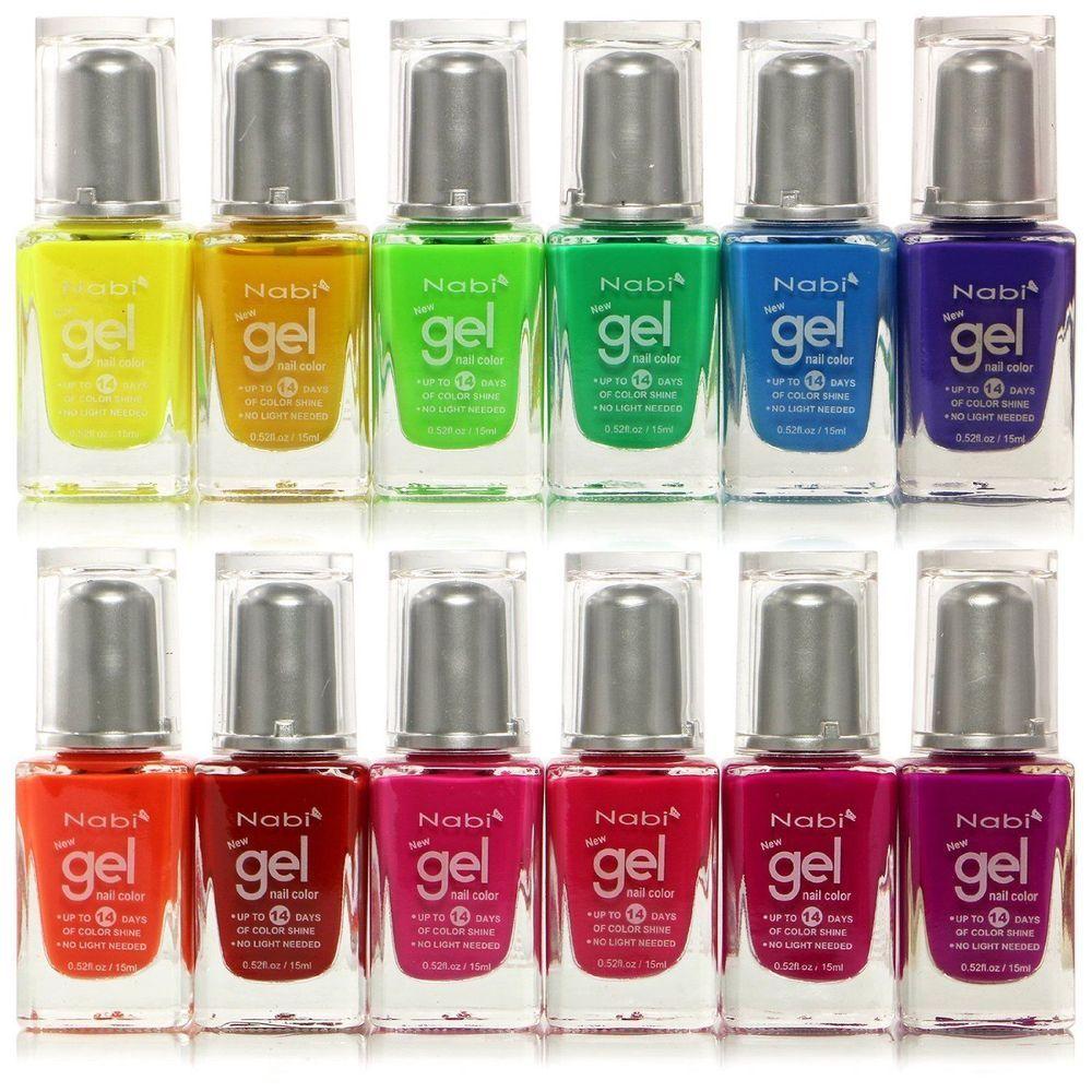 Nabi Gel Nail Polish Perfect Color \