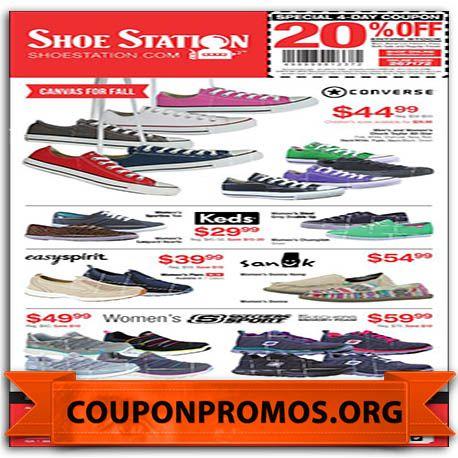 Shoe Station Printable Coupon November