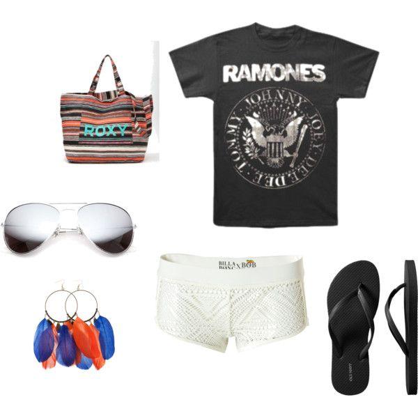Summer Love, created by leanna-durbin on Polyvore