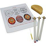 Amazon.com: 10 Wooden Handle Kistkas, 10 Dyes, 5 Beeswaxes & Instructions Egg Decorating Kit