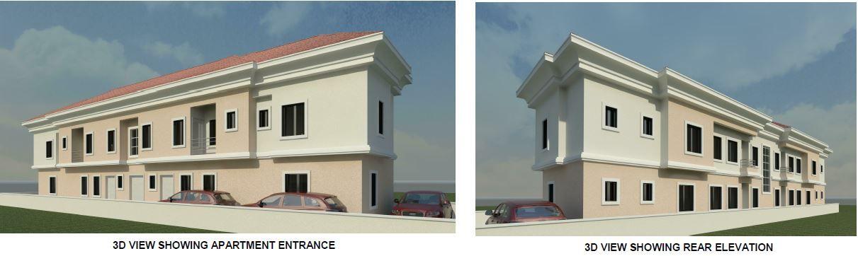 Building Plan Of A 2 Bedroom Block Of 4 Flats Need Suggestions Properties Nigeria Building Plan Block Of Flats Building