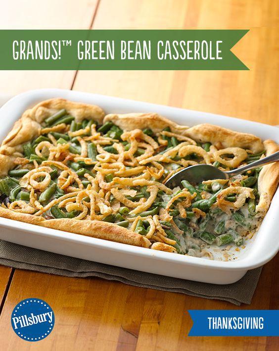 Grands Green Bean Casserole Recipe Food Recipes Food