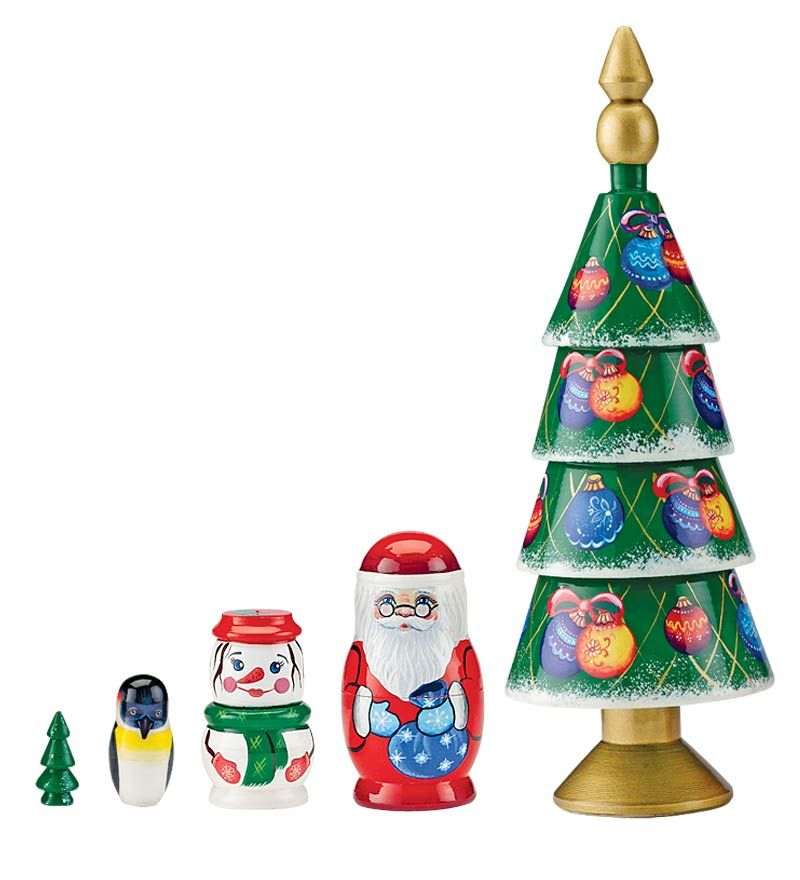 Christmas Tree Nesting Set Plow & Hearth Christmas
