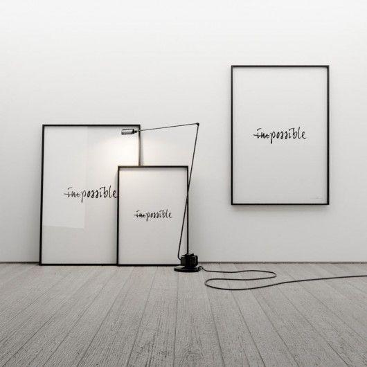 IMPOSSIBLE... - grafika 70x50 - Pakamera.pl