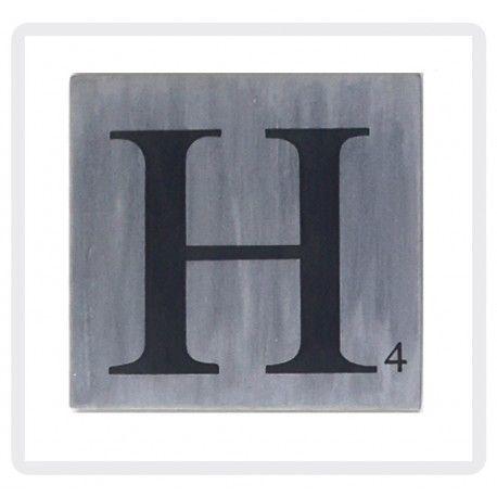 choisissez vos lettres scrabble en gris zinc lettres fa on scrabble a la commande pinterest. Black Bedroom Furniture Sets. Home Design Ideas