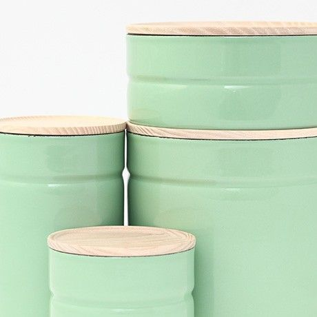 Set of 4 Storage Jars - Green by Shop | MONOQI