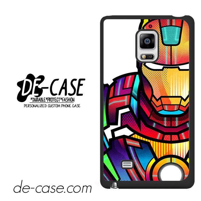 Ironman Colorful Art DEAL-5685 Samsung Phonecase Cover For Samsung Galaxy Note Edge