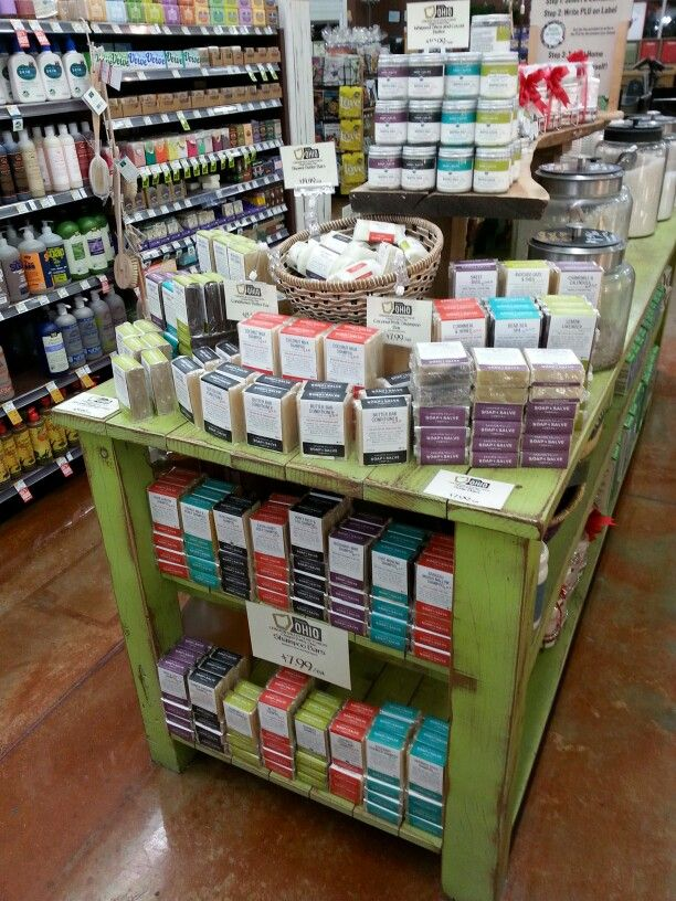 Arrived! Chagrin Valley Soap and Salve at Whole Foods