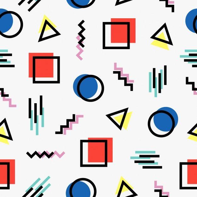 kuvahaun tulos haulle graphic design pattern layout 80 s