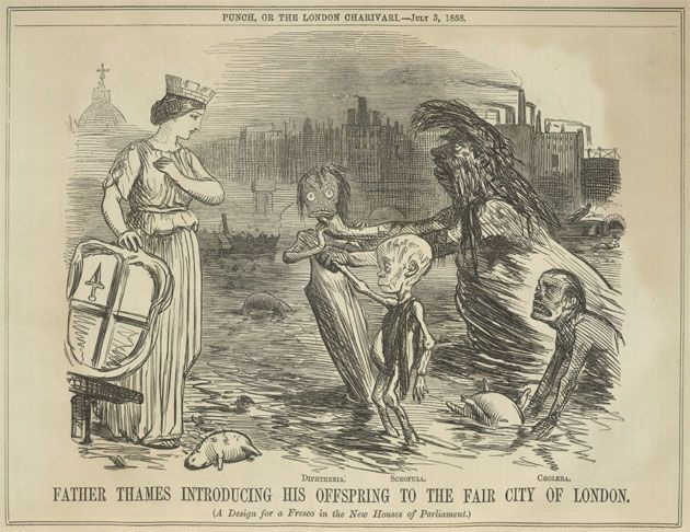 Parliament Was Worried By The Great Stink Of 1858 When The