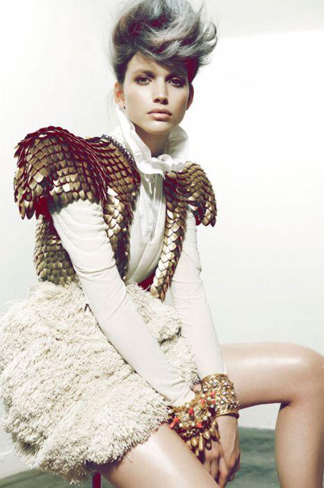 haute couture metal -