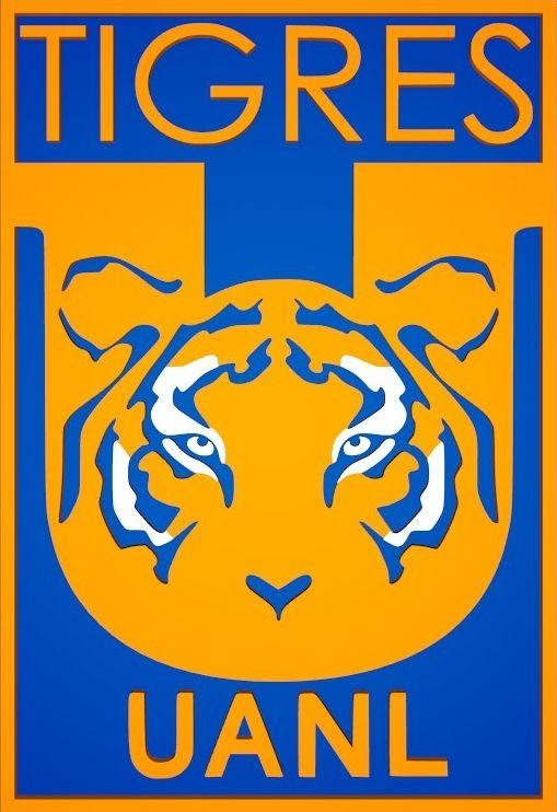 Escudo De Tigres De La U A N L 2016 Sin Estrellas Tigres Uanl