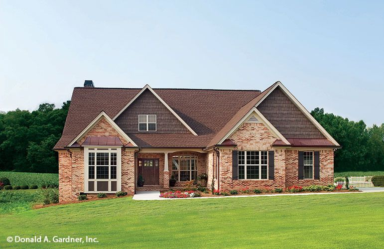 2252 sq ft house plan the whiteheart by donald a gardner for Donald a gardner architects