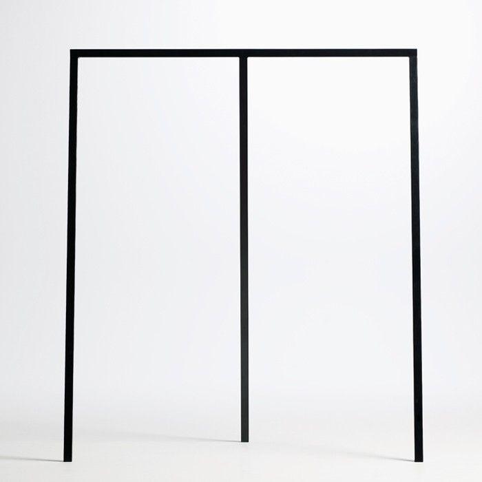 Found4you hay design loop stand wardrobe garderobe schwarz design shop