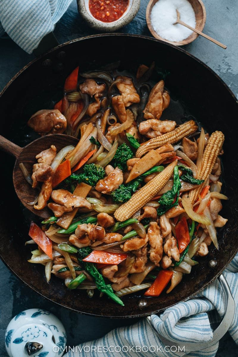 Chicken Chop Suey In 2020 Easy Chinese Recipes Best Chinese Chicken Recipe Asian Dinner Recipes