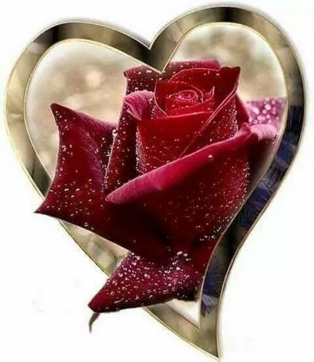 мне картинки сердечки с розами блестящие время это были