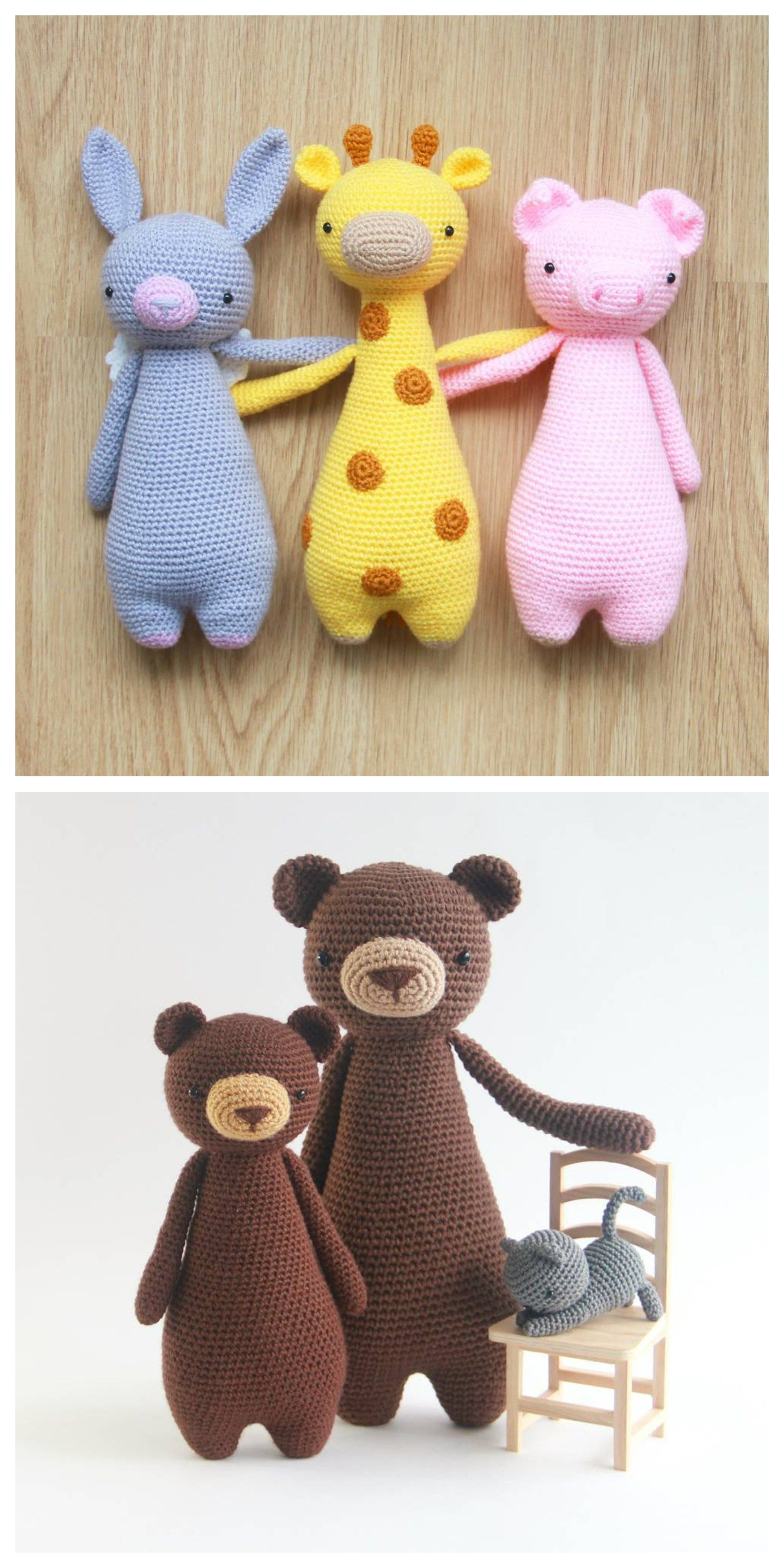 Crochet Amigurumi Patterns by Little Bear Crochets