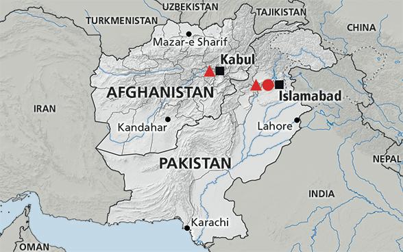Map of the region hindu kush afghanistan pakistan geography map of the region hindu kush afghanistan pakistan gumiabroncs Choice Image