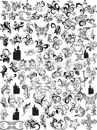 Ilustración de patrón abstracto — Vector de stock #1552121