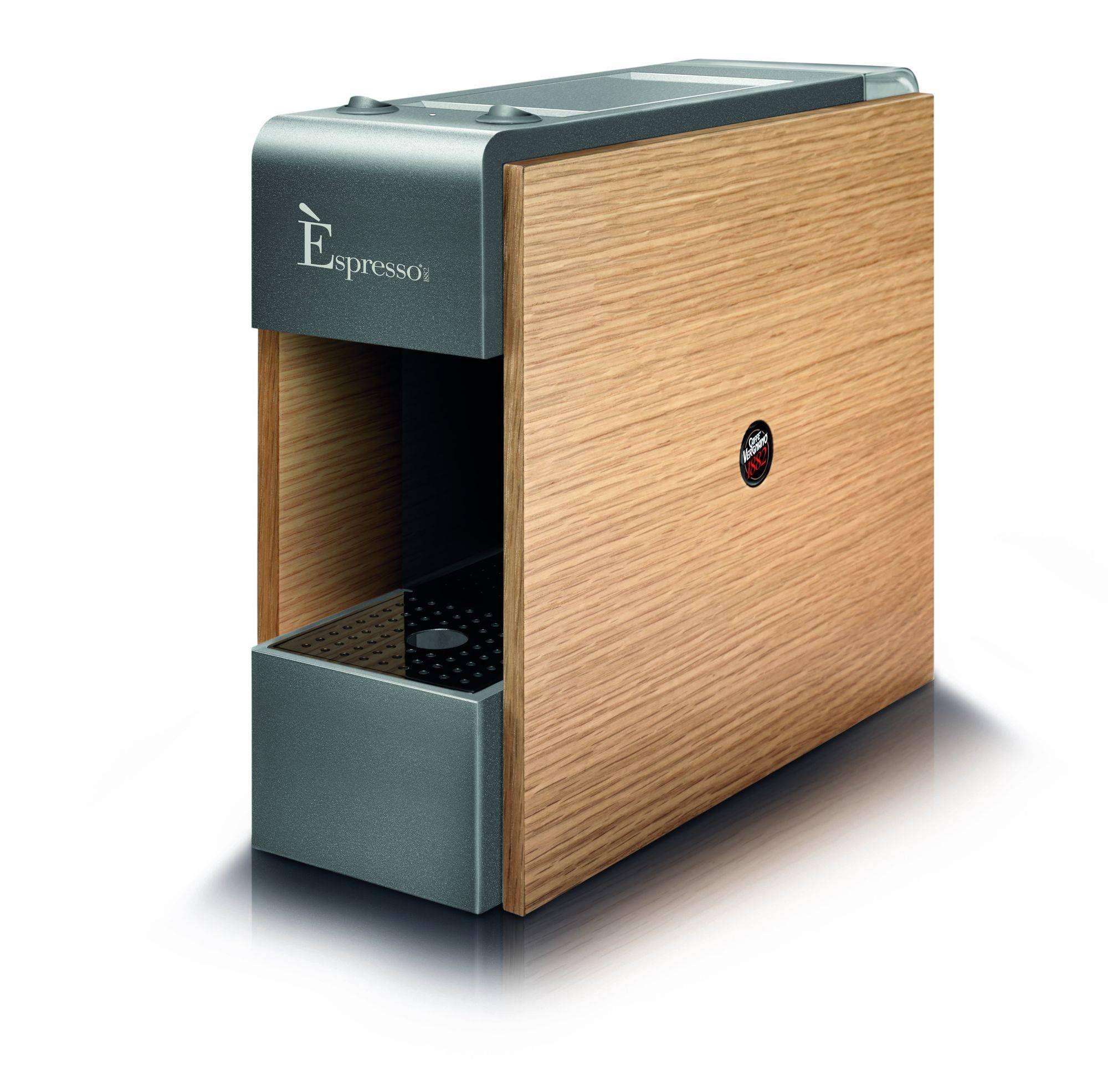machine e espresso tre vergnano bois et grise compatible. Black Bedroom Furniture Sets. Home Design Ideas