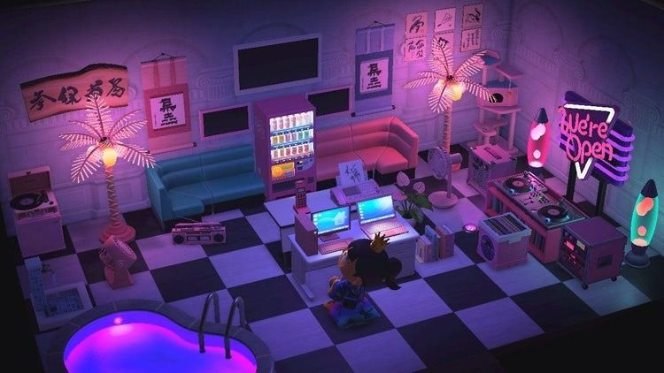 50 Of The Coolest Most Creative Animal Crossing Room Designs We Ve Seen Animal Crossing Animal Crossing Game New Animal Crossing