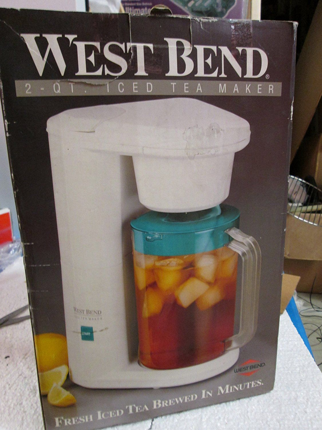 NEW West Bend 2 Qt ICE TEA Maker >>> This is an Amazon