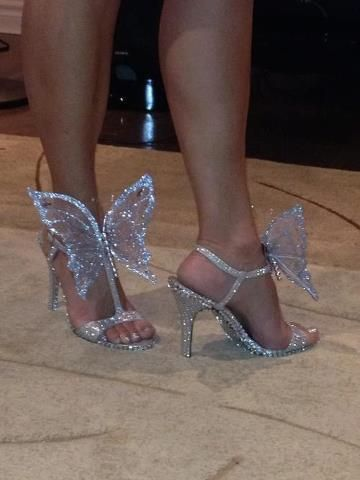 butterfly shoes <3