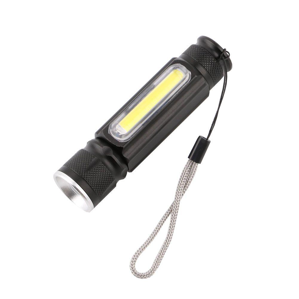 Mini COB Working Flashlight Super Bright Light 2 Modes For emergency Camping