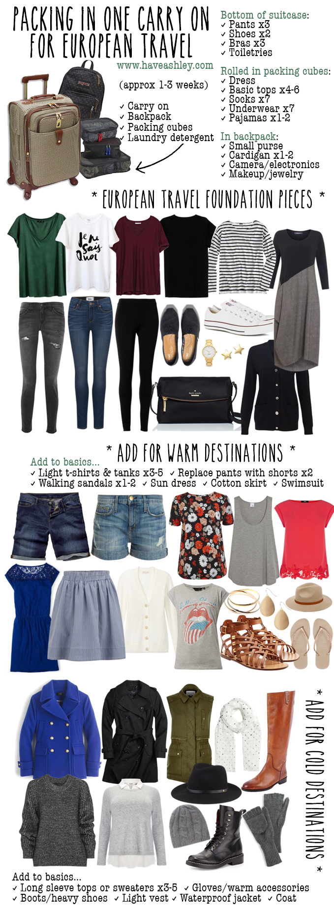 3-in-1 Vacation Basics