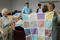 Knit Your Bit provides handmade hats, scarves, and other winter clothing items to veterans