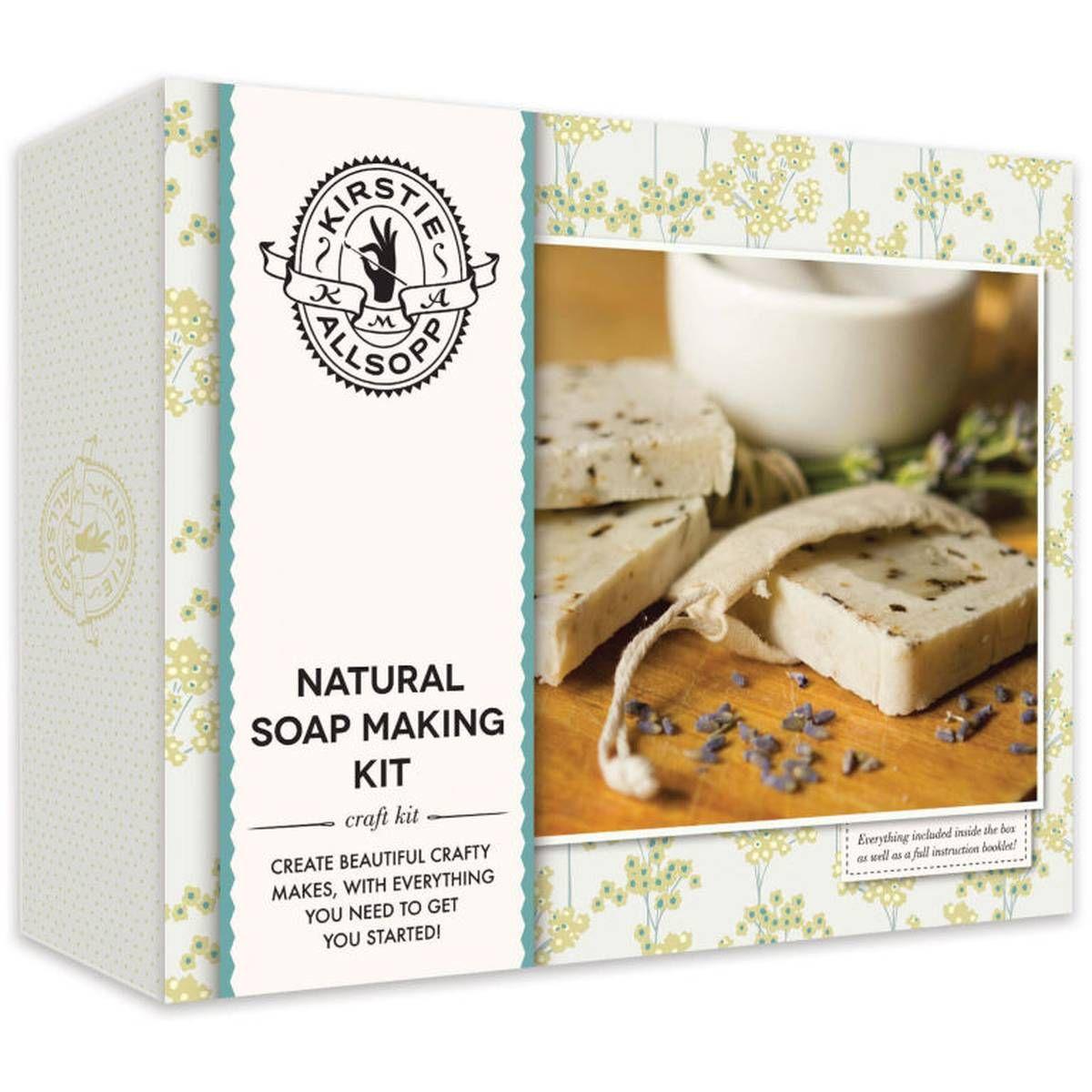 Kirstie Allsopp Natural Soap Making Kit Hobbycraft