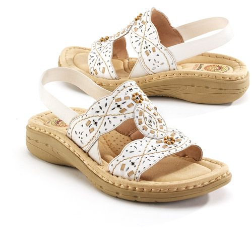 Earth Spirit - Women's Willow Leather Sandals - Walmart.com