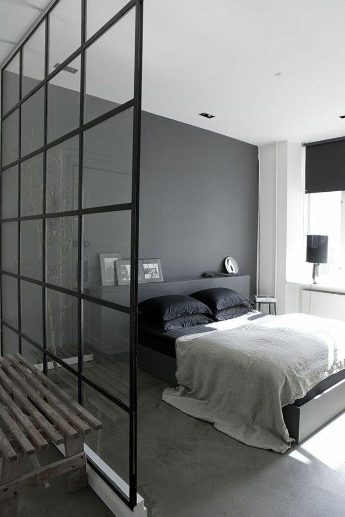 1 jolie chambre a coucher avec verrire d - Chambre Avec Verriere