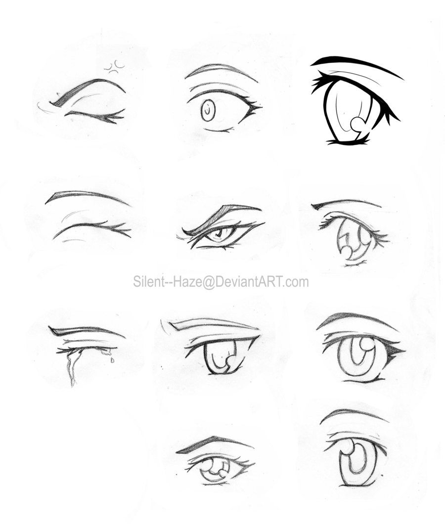 Anime Girl Eyes Closed: How To Draw Closed Eyes - Google Search