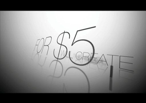 Kinetic Typography Moving Text video on fiverr.com