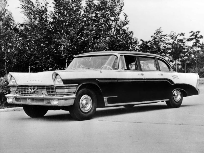 ZIL 111 pre-production 'in 1957 http://en.autowp.ru/zil/111/