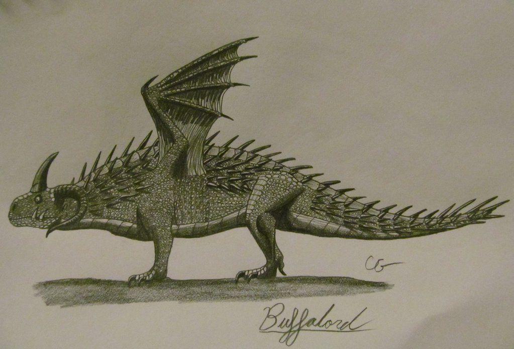 How To Train Your Dragon Buffalord By Acrosaurotaurus Desenhos