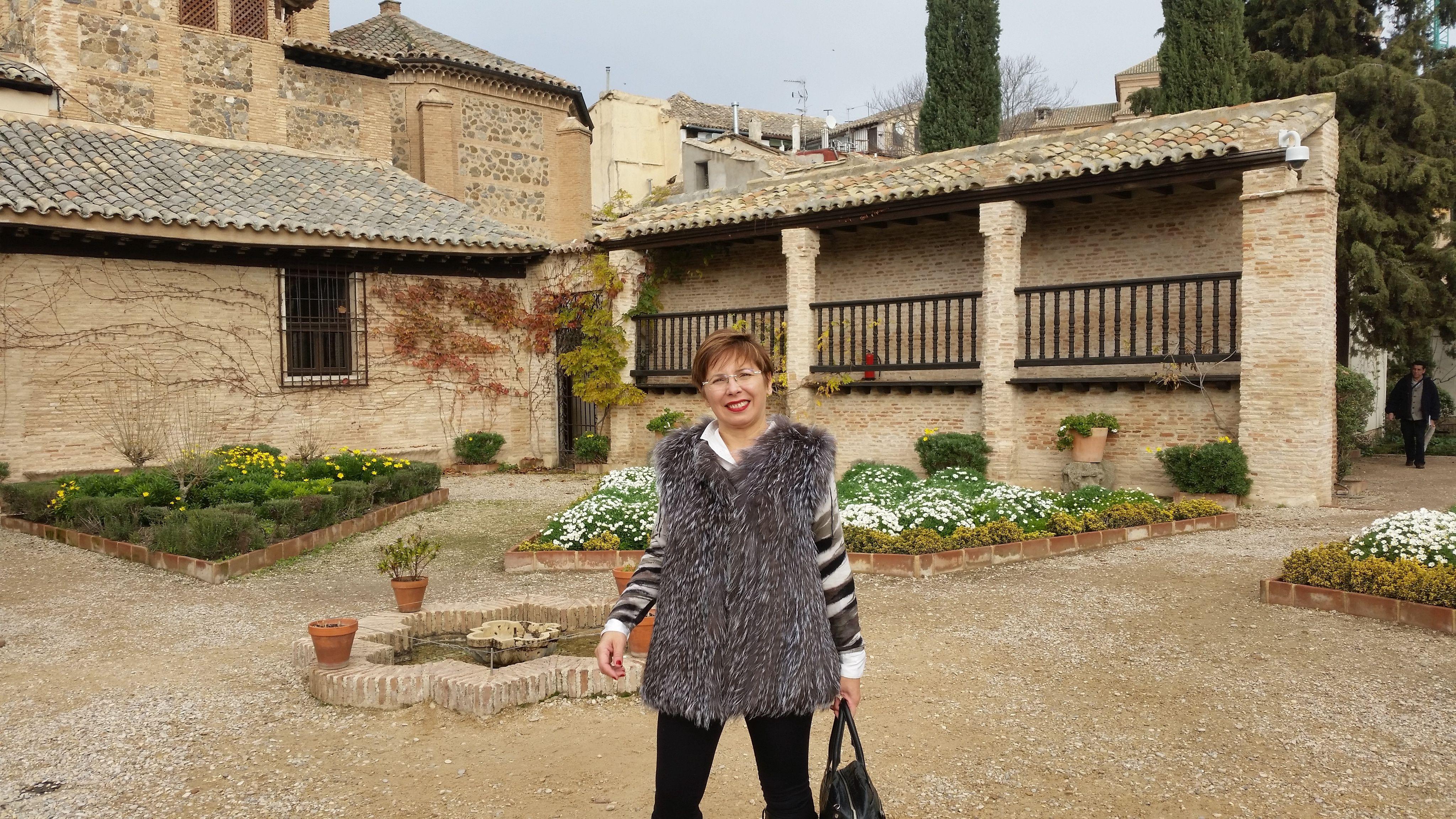 En la Casa Museo de El Greco en Toledo
