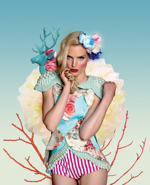 Photomontage using #Photoshop by Serbian illustrator Becha via DigitalArtsOnline.co.uk
