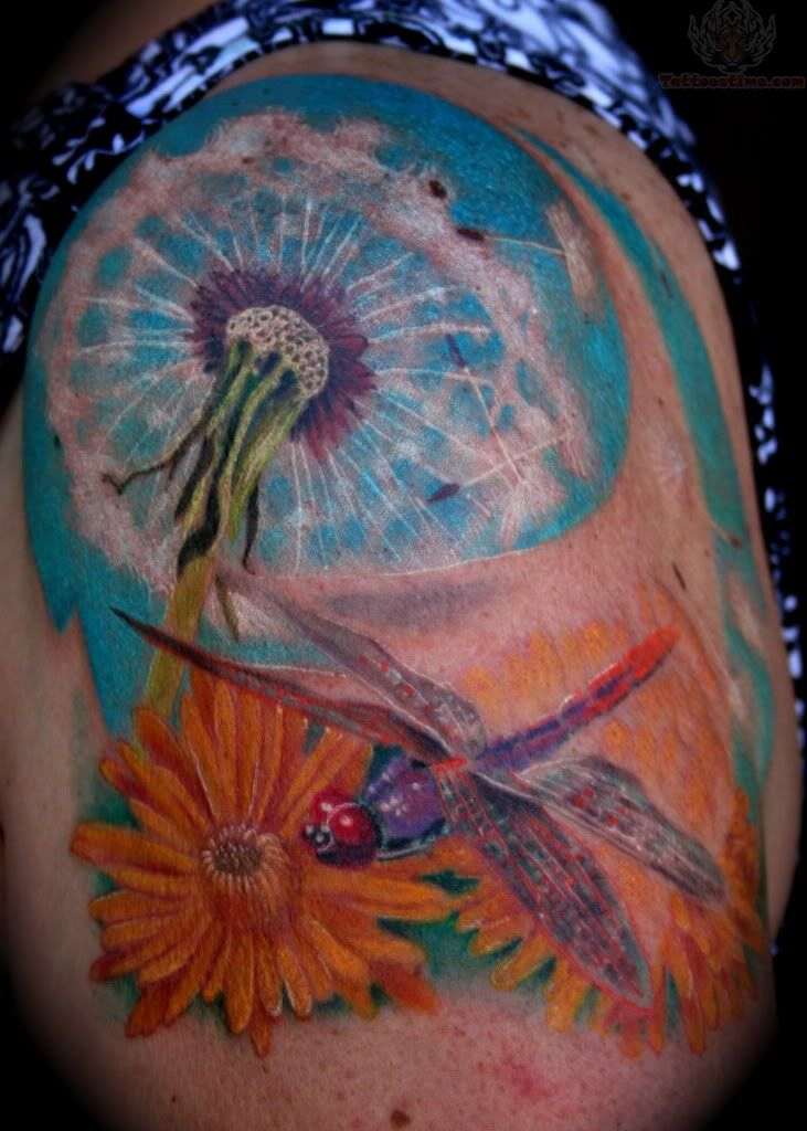 dragonfly and fairy tattoos | Dragonfly Tattoos