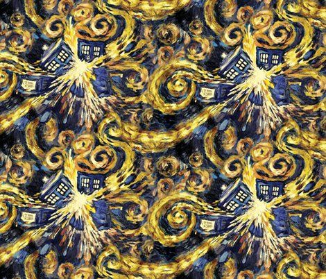 Fabric – Shop for Fabric By Independent Designers – Spoonflower ... : doctor who quilting fabric - Adamdwight.com